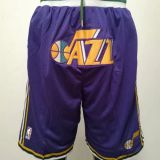 Utah Jazz Purple Shorts