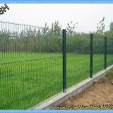 Anti Climb PVC Coated Wire Mesh Fence Panels 1530mm 1830mm 2030mm For Multi Color