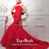 I'm very interested in the message 'S950 Real photo Fashion Design Wedding Dresses Red Bridal Gown' on the China Supplier