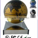 "high quality magnetic floating globe levitating 4"" 6"" globe rotating globe for gift&indoor"