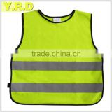 Children safety vest high visibility 120gsm EN1150