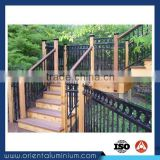 Aluminum Stair Handrail Outdoor Metal Handrail for Steps