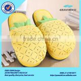 Despicable Me Food Fruit Slipper Plush Stuffed Funny Anime Slipper Jorge Animal Warm Winter Home Slippers For Women Men Kid