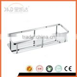 Stainless steel bath shelf, stainless steel single tier rack, 831 basket shelf