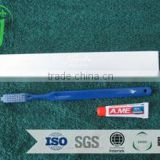 Hot sales wholesale adult hotel disposable toothbrush /factory giant toothbrush hotel amenities