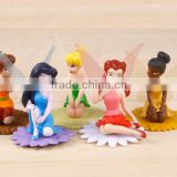 Custom Made promotional small plastic sexy fairy figurine