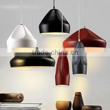 Modern creative artistic Lamps and lanterns of European Fashion ceramic cafe restaurant bar droplight Contracted fashion