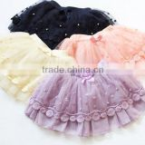 beautiful bubble skirts kids skirts fashion lace skirts with 4 sizes for 2-8 years girls
