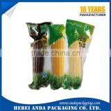 Custom Printed Clear Plastic Food Packing Bag Transparent Nylon Retort Pouch/Food Vaccum Pouch