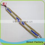 China yiwu cheap red cotton friendship bracelet for sale