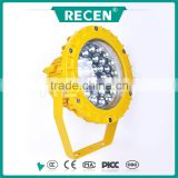 IP66 yellow aluminum alloy waterproof explosion proof 40W LED flameproof lighting