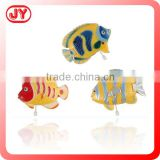Colorful design fish wind up toy animal plastic toy for kids