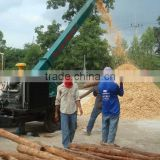 2-20t per hour wood chipping machinery