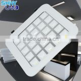 ultra thin recessed 4w 9w 16w 25w led grille light, led panel light