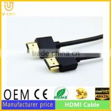 China supplier awm 20276 high speed hdmi cable for computer