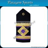 Navy Epaulette 3rd Engineer Curved Diamond 2 Gold Bar Shoulder Board