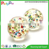 Partypro 2015 products made in china toys for kids 3D figure bouncing bal wholesale ball pit balls