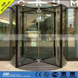 South Africa Welblay Hotel, all glass revolving door, ISO9001 CE UL certificate