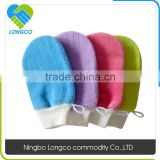 Factory price nylon bath glove