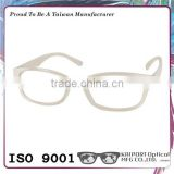 Brilliant color matched optical glasses with metal hinge