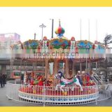 China happy outdoor popular christmas musical carousel