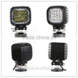 Car 48W Square LED Work Light 6500k Spot lights led 3500Lumens for ATV Jee-p Wrangler 4x4 Rv Trailer Fishing Boat Tractor Truck