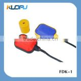 2015 Kuopu Rectangle Blue Cover Yellow Side With Weightcounter 1m Pvc Water Level Float Switch