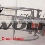 Drum clamp on loader, wheel loader attachments