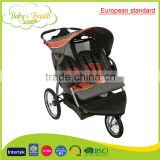 BS-54 european standard style baby double stroller baby pram en1888 travel system                                                                         Quality Choice
