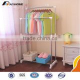 Suplier Folding/Foldable Wall Mount Clothes Drying Rack Galvanized Steel Foldable Laundry Hanger/Rotary Dryer
