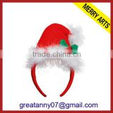 children\s santa hats & christmas fancy dress with head band