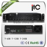ITC T-350B Series Multiple Model Having EMC input PA System Audio Integrated Amplifier