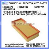 AIR FILTER MR127078 MR239025 30872785 1457433535 FOR MITSUBISHI SPACE STAR 98- CARISMA 95-06