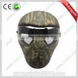 Camo Military Full Face Paintball Mask