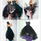 Colorful New Designer Sweetheart Beaded Short Long Quinceanera Dresses Prom Gowns P1607