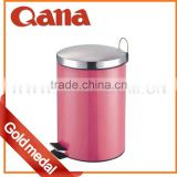 New Stainless Steel Round Shape Trash Can 3L /5L / 12L /20L /30L /40L In Different Colours