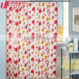 bright color polyester shower curtains