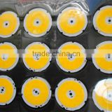 Epistar Bridgelux COB LED chip round high bright RA>85 high lumen 3W 5W 7W 9W 10W 12W 15W 18W 20W 30W                                                                         Quality Choice