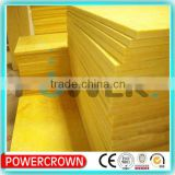 high quality good price thermal insulation glass wool board for wall made in china