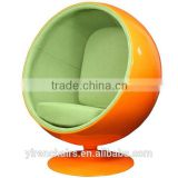 Fiberglass Swivel Ball Chair Eero Aarnio chair