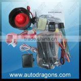 Full function one way car alarm systems