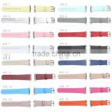 38mm Soft PU Leather Strap Wrist Band Replacement Watch Band with Metal Clasp for Apple Watch Sport Edition