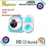 Unique PODO mini hidden video camera NTK samllest wifi action camera remote controller full hd sport camcorder