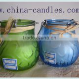 eco-friendly replacement glass candle holder candle wax melters