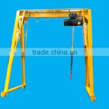 5 ton small gantry crane for Indoor use