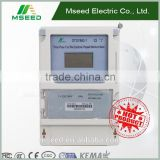 Top Quality Three Phase Prepaid Energy Meter , Customized Prepayment ^Electric Power Meter