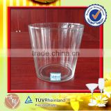 Wholesale light glass best ice bucket with ice tongs