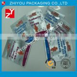 Lowest Price pure aluminium cod-liver oil triangle sealing bag