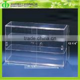 DDC-C009 ISO9001 Chinese Factory Wholesale SGS Test Lockable Acrylic Cupcake Display Cabinet With Sliding Door