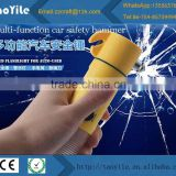 Car bus emergency break glass hammer with flash warning light